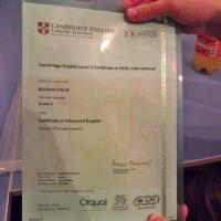 Cambridge dodela diploma maj 2014. godina